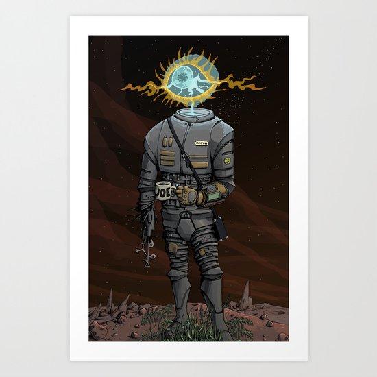 Epoch Night Shift Art Print