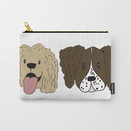 The Spaniels Carry-All Pouch