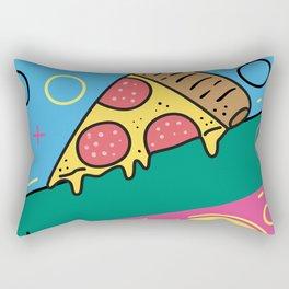 80s Pizza Party Rectangular Pillow
