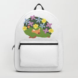 Spring Hedgehog Backpack