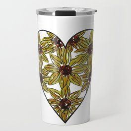 Sunflower Love Travel Mug