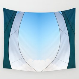 Abstract Sailcloth c3 Wall Tapestry