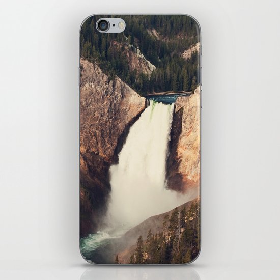 Yellowstone Canyon Waterfall iPhone & iPod Skin