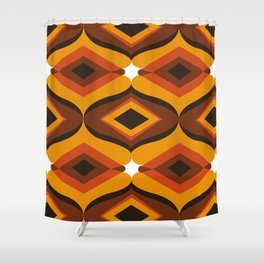 Rebirth Of The 70's No. 490 Shower Curtain