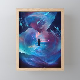 I am tired of earth Dr manhattan Framed Mini Art Print