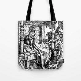 Holbein -Danse Macabre 36 Tote Bag