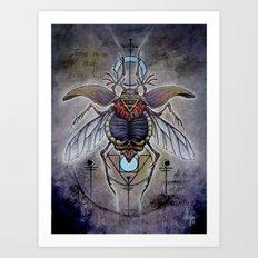 'Terra Elementorum' Art Print