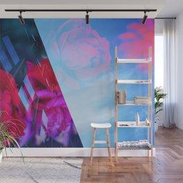 Hyperstimulation Blue - Detroit 0610 Wall Mural