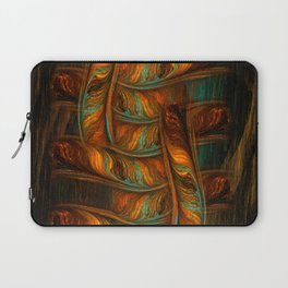 Abstract Totem Laptop Sleeve