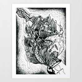 Flem Art Print