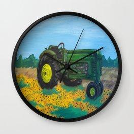 John Deere Wall Clock