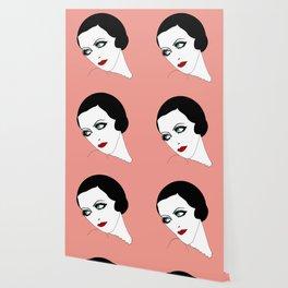 Glance (pink) Wallpaper
