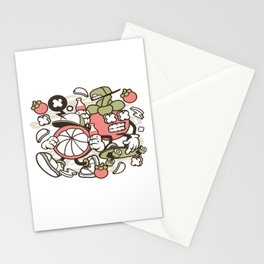 Mangosteenfor animated characters comics and pop culture lovers Stationery Cards