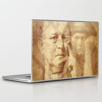crowley Laptop & iPad Skins featuring Mr. Crowley by Rodrigo Grola