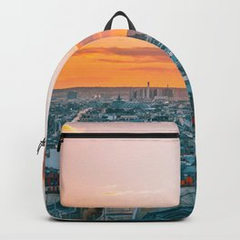 Sunset in Paris (Color) Backpack