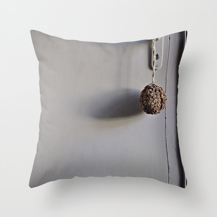 Door from Boulogne Throw Pillow
