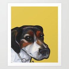 Milo the Jack Russell Terrier Art Print