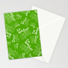 I've Always Wanted To Use That Spell Stationery Cards