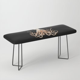 Octopus sea nautical beach coastal Bench