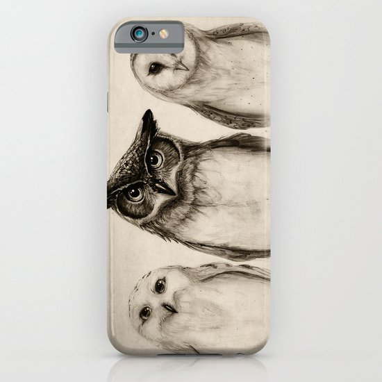 The Owl's 3 iPhone & iPod Case