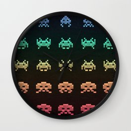 Invader Space Wall Clock