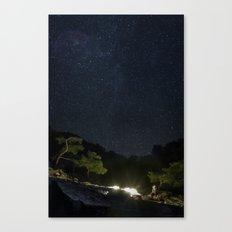 Chimaera and the Galaxy Canvas Print
