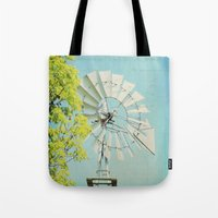 american beauty Tote Bags featuring American Beauty Vol 20 by Farmhouse Chic