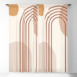 geometric abstract 65 Blackout Curtain