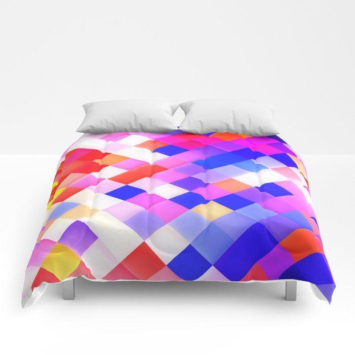 yellow pattern 4 Comforters