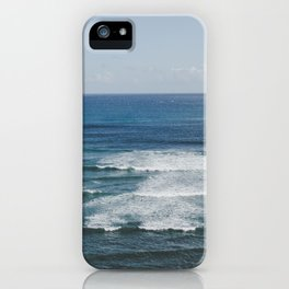 Where the Sky Meets the Sea in Hawaii iPhone Case