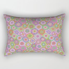Millefiori-Fairytale Colors Rectangular Pillow