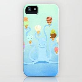 Ice Cream Power iPhone Case