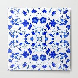 Velasco Blue -1 Metal Print