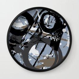 Enso Groove E by Kathy Morton Stanion Wall Clock