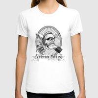 tattoos T-shirts featuring Veterano Tattoos Logo by DaCreativeGenius