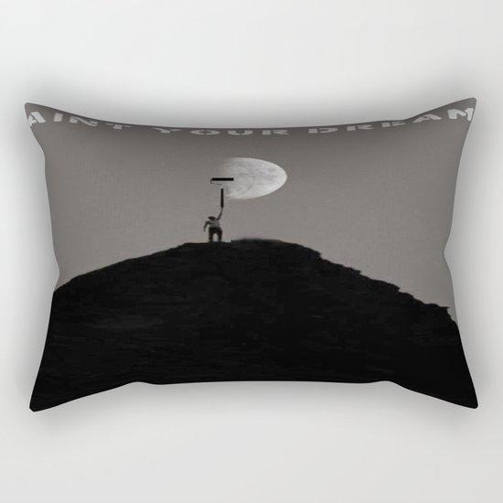 Paint Your Dreams Rectangular Pillow