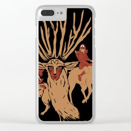 The Legend of Forest Fantasy Clear iPhone Case