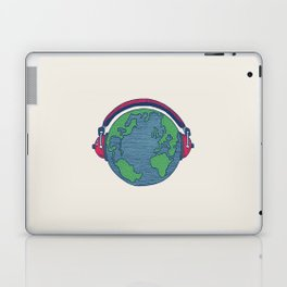 World Music Laptop & iPad Skin