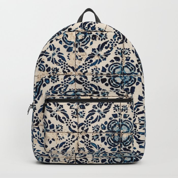 Azulejos - Portuguese painted tiles II Backpack