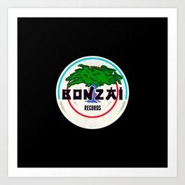 Bonzai Records - Deejay Art Print