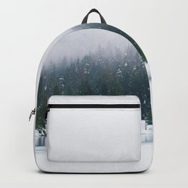 Evergreen Winter Forest (Color) Backpack