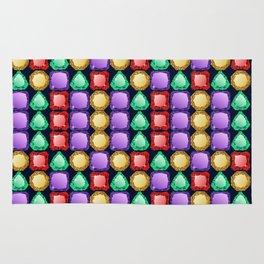 Colorful diamonds Rug