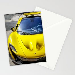 Acid Yellow McLaren P1 Stationery Cards