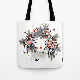 Chrysanthemum Mood Tote Bag