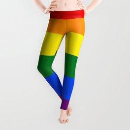 Rainbow Pride Flag Leggings