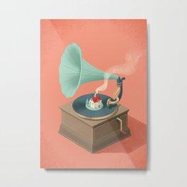Gramohome Metal Print