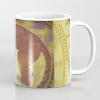 journey Mugs featuring Journey by SpaceFrogDesigns