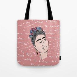 Frida, drowned with bastards Tote Bag