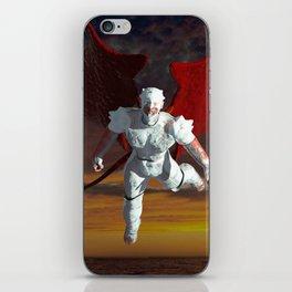 White Soldier iPhone Skin