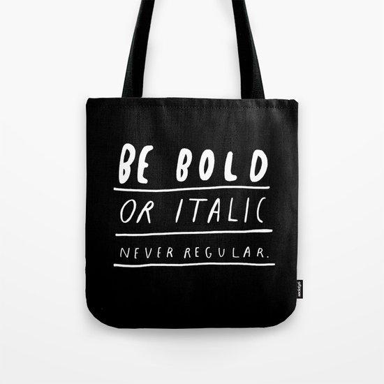 NEVER Tote Bag